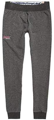 Superdry Women's Orange Label Skinny Jogger Sports Leggings,W32/L30