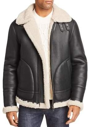 Maximilian Furs Ariel Lamb Shearling Jacket