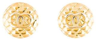 Chanel Coco Crush CC Earrings