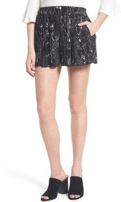 Women's Leith High Waist Pleat Shorts $65 thestylecure.com