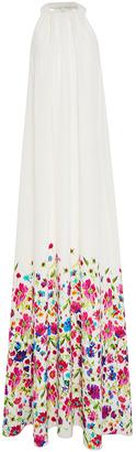 Oscar de la Renta Floral Maxi Dress $3,490 thestylecure.com