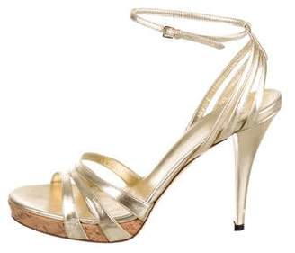 2b963c1f217 Pre-Owned at TheRealReal · Gucci Leather Ankle-Strap Sandals