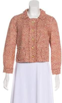 Louis Vuitton Cropped Tweed Jacket