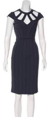 Catherine Deane Cutout Sheath Dress w/ Tags