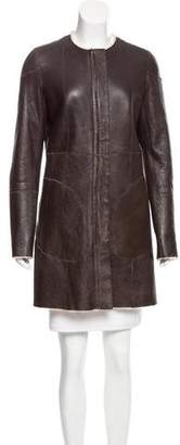 Celine Reversible Shearling Coat