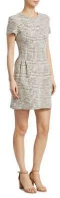 Theory Tweed Corset Tee Dress