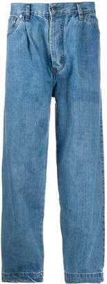 Societe Anonyme high-rise tapered jeans