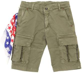 Fred Mello Cotton Gabardine Cargo Shorts
