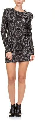 Circus Hotel Mini Dress Jacquard