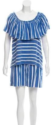 WHIT Stripe Mini Dress