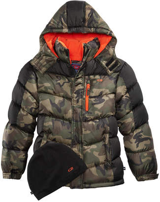 CB Sports Big Boys Hooded Puffer Coat