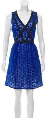 Marc by Marc Jacobs Colorblock Lace Dress