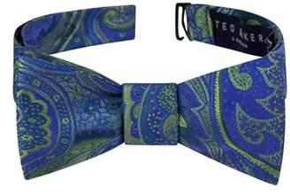 Ted Baker Elegant Paisley Silk Bow Tie