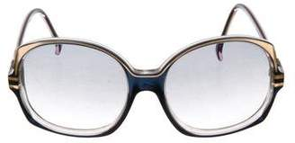 Nina Ricci Oversized Gradient Sunglasses