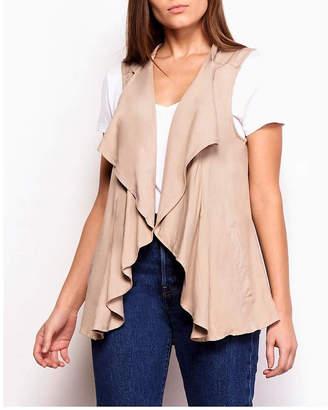 BB Dakota Lace-Up Back Vest