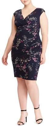 Lauren Ralph Lauren Adara Floral Jersey Dress