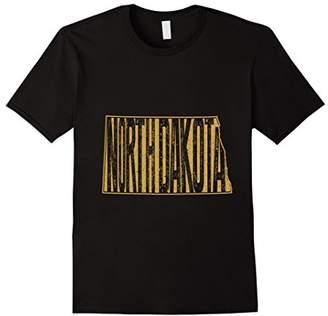 Dakota North Graphic Tshirt Retro T-Shirt for North Dakotans