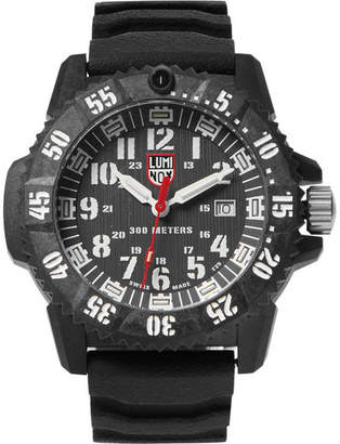 Luminox 3800 Series 3801 Carbon-Reinforced and Rubber Watch