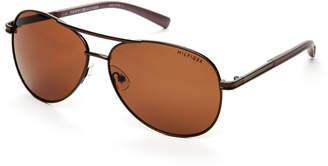 Tommy Hilfiger Bronze-Tone Bae Aviator Sunglasses