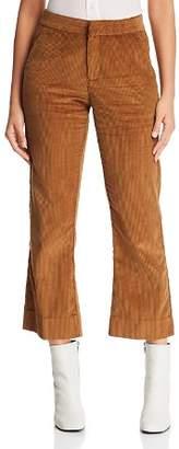 MKT Studio Polief Corduroy Cropped Flare Pants