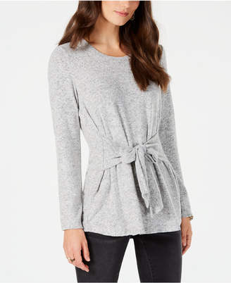 Style&Co. Style & Co Tie-Front Tunic