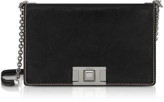 Furla Glossy Leather Mimi S Crossbody Bag