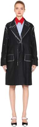 Prada Printed Cotton Japanese Moleskin Coat
