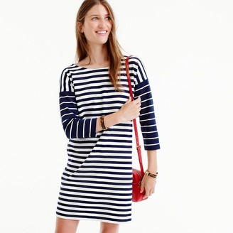 Colorblock stripe ponte dress $88 thestylecure.com