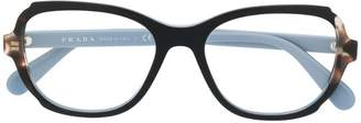Prada rectangular glasses
