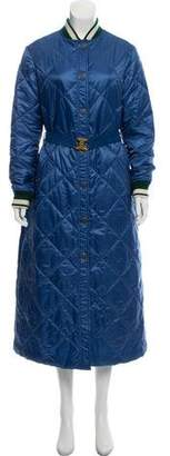 Tory Burch Loriner Quilted Coat w/ Tags