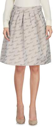 Moschino Knee length skirts