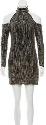 Rachel Zoe Long Sleeve Silk Dress