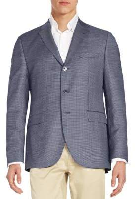 Hugo Boss Johnston Virgin Wool Check Sportcoat