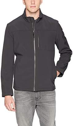 Calvin Klein Men's Angle Placket Soft Shell Jacket Outerwear