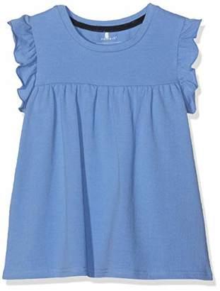 Name It Girls' NMFFIMIE SS TOP Tank, Blau Blue Bonnet