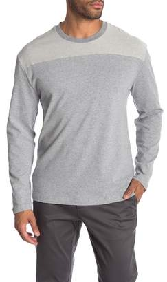 Original Penguin Long Sleeve Colorblock Crew Neck Pullover