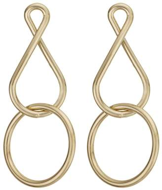 J by Jasper Conran Designer Gold Twist Earrings