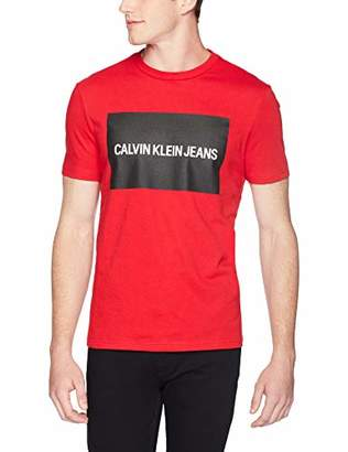 Calvin Klein Men's Institutional Logo T-Shirt