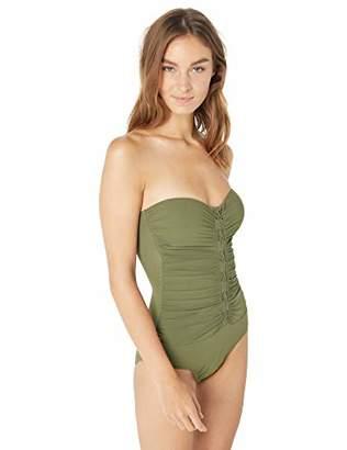 Gottex Profile by Women's Center Detail Bandeau One Piece Swimsuit