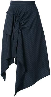 3.1 Phillip Lim Pinstriped handkerchief skirt