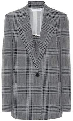 Acne Studios Checked cotton-blend blazer