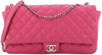 Chanel Pink Leather Handbag