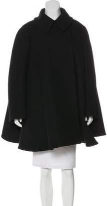 Alaia Textured Wool Coat