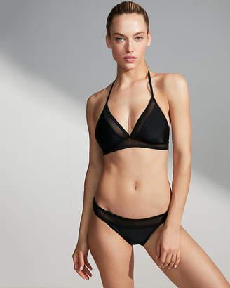 Express Mesh Banded Bikini Bottoms
