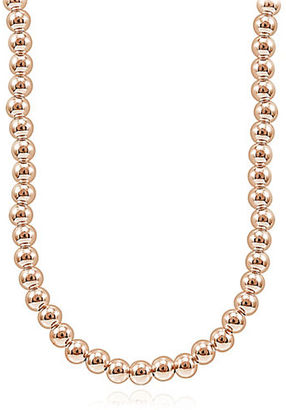 Lord & Taylor Rose Goldplated Beaded String Necklace $125 thestylecure.com