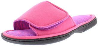 Gold Toe Velcro Strap Slip-On Slippers