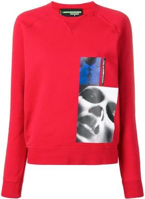 DSQUARED2 x Mert & Marcus printed patch sweatshirt