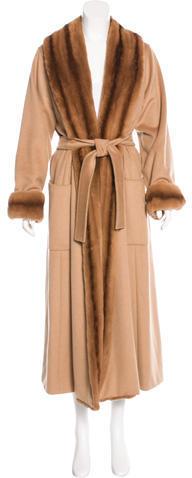 Max MaraMaxMara Camelhair Duster Coat