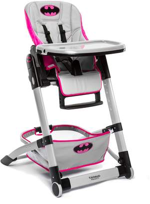 Kidsembrace DC Comics Batgirl Deluxe High Chair by KidsEmbrace