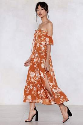 Nasty Gal Gates to the Garden Floral Dress